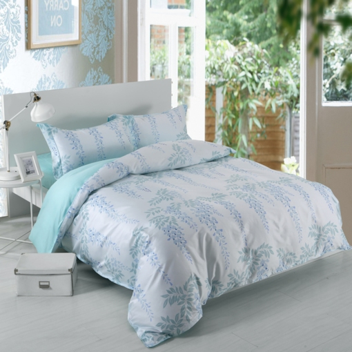 Plain Plant Garden 4-Piece Bedding Sets