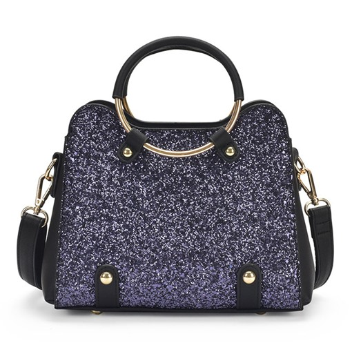Shining Sequins Circular Ring Handle Cross Body
