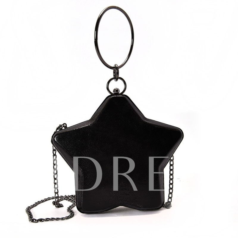 Particular Five Pointed Star Shape Cross Body
