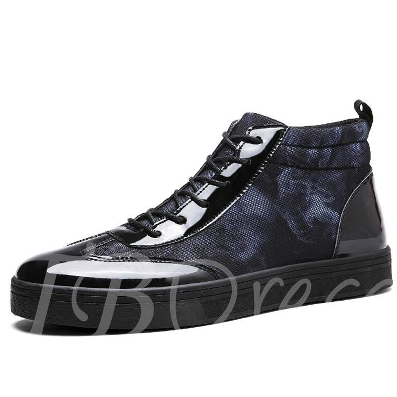 sneakers homme montant de camouflage lacets. Black Bedroom Furniture Sets. Home Design Ideas