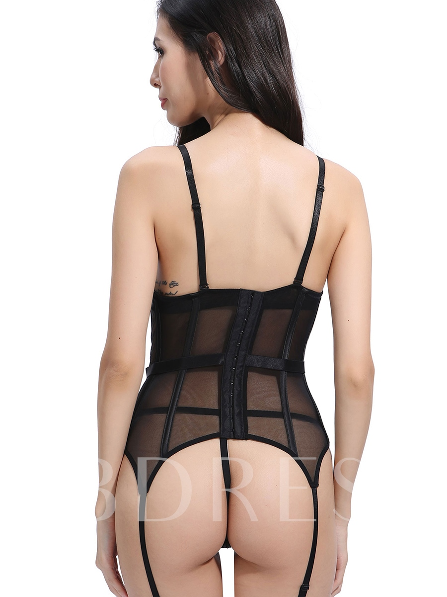Sexy Bowknot Tight Wrap Lace-Up Costume