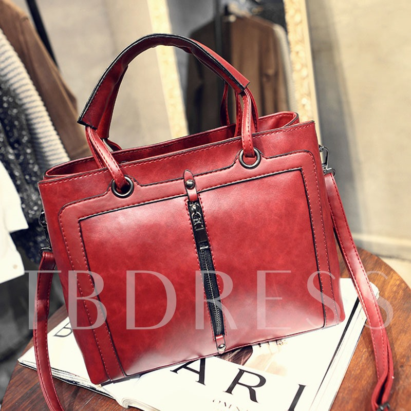 Occident Style PU Women Tote Bag