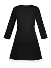 Black Knot Women's Long Sleeve Dress