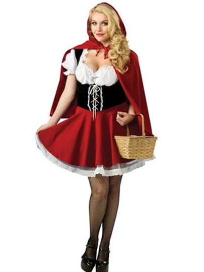 Short Sleeve Patchwork Lace Schoolgirl Costume