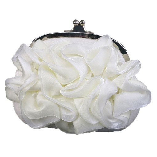 Silk Bowknot Rhinestone Decoration Clutch