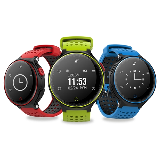 IP68 Waterproof Smart Watch with Blood Pressure Heart Rate Monitor