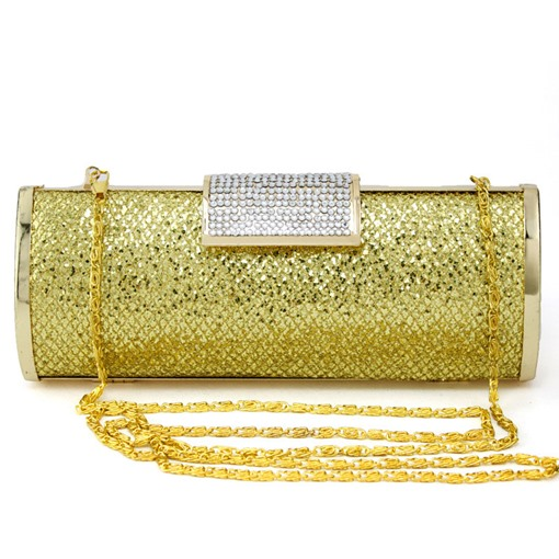 Sequins Rhinestone Decoration Evening Clutch