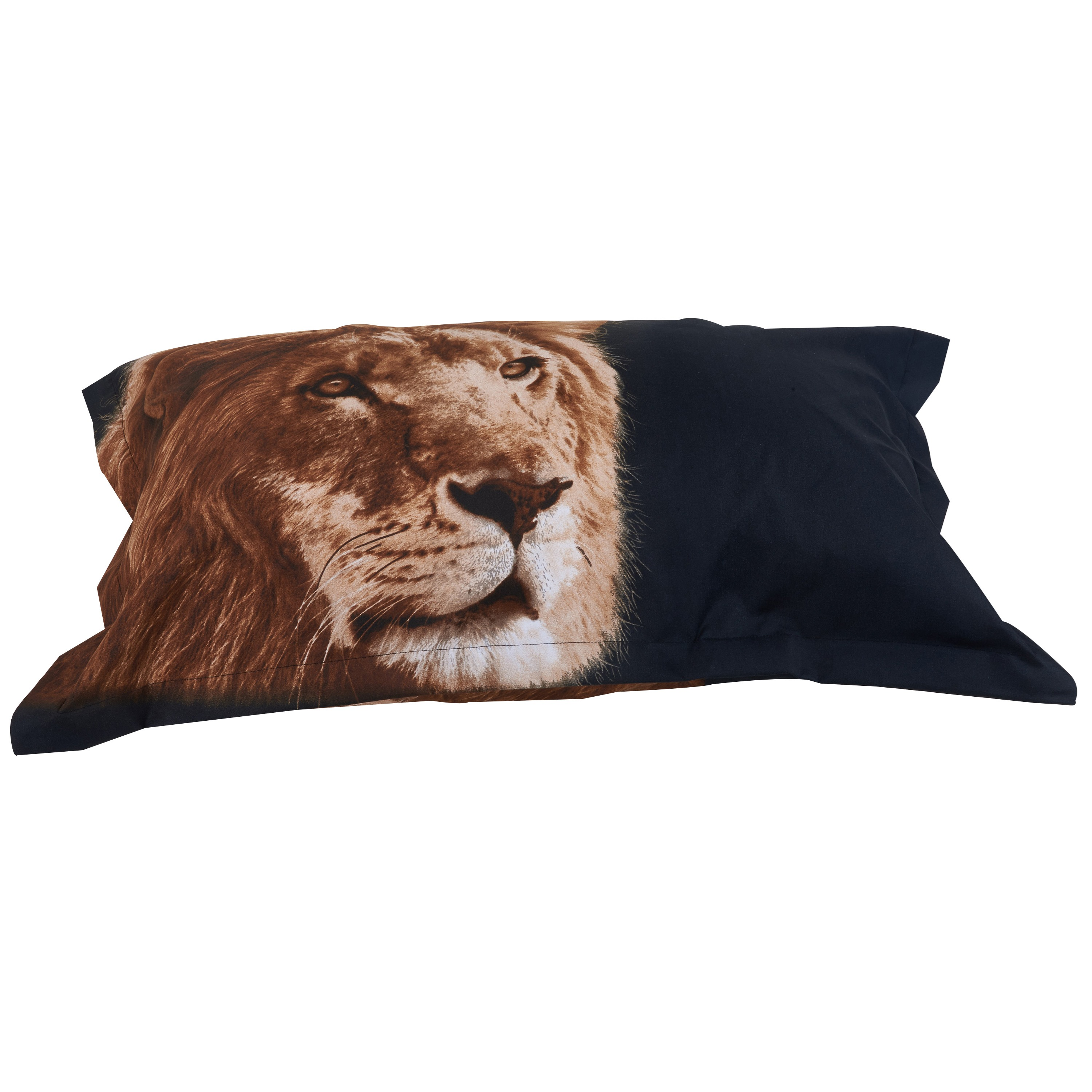 Golden Lion Head 3D Printed Polyester 4-Piece Bedding Sets /Duvet Covers
