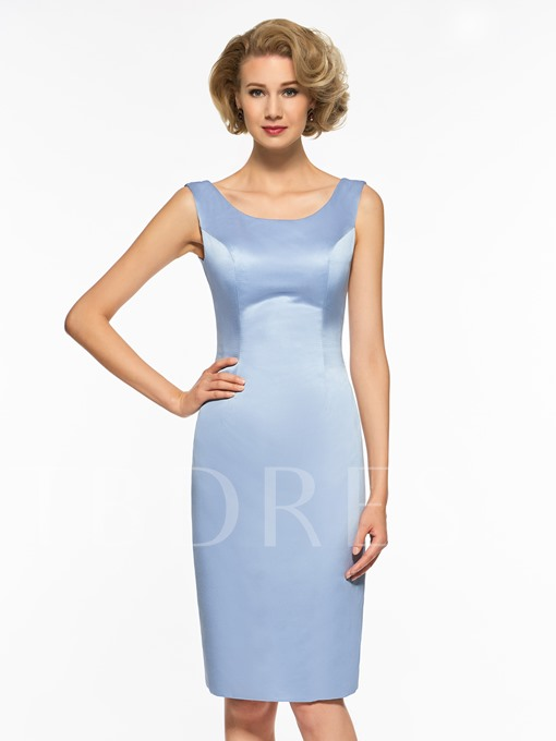 Sheath Knee-Length Mother Of The Bride Dress With Jacket