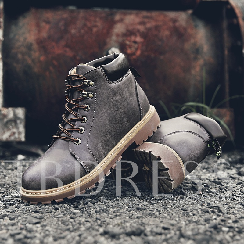 Lace-Up Durable Martin Boots Outdoor Shoes