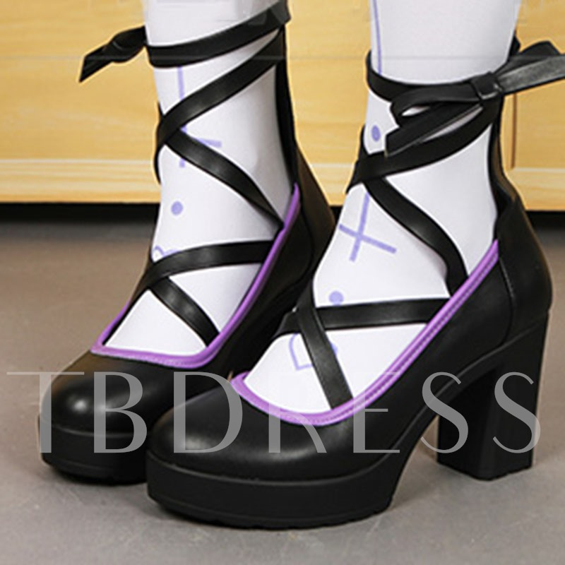 halloween party witch shoes chunky heel platform pumps for women sold out