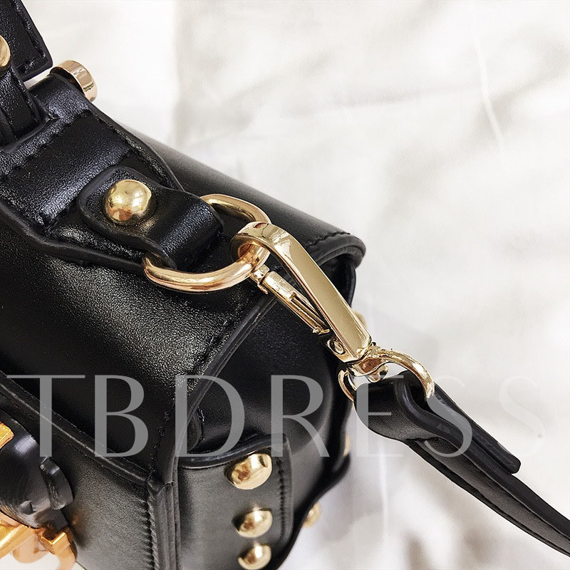 Occident Style Vintage Badges Design Cross Body