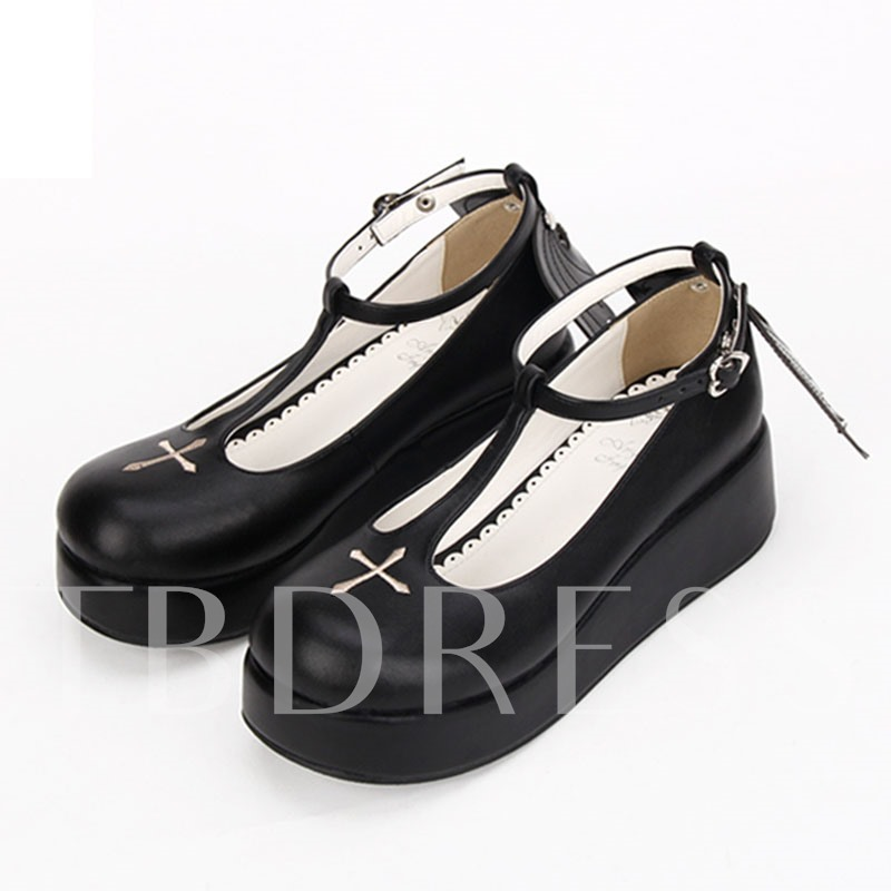 Halloween Party Costumes Cross Wings Women's Shoes