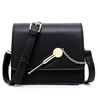 Occident Style Latch Decoration Cross Body Bag