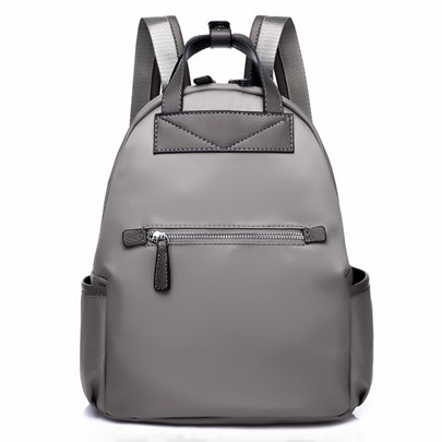 Preppy Chic Waterproof Oxford Cloth Backpack