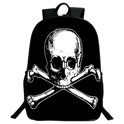 Halloween Style Skull Printing Men's Backpack