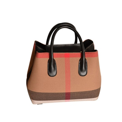 Simplicity Color Block PU Tote Bag