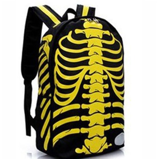 Individual Pirate Skull Printing Backpack