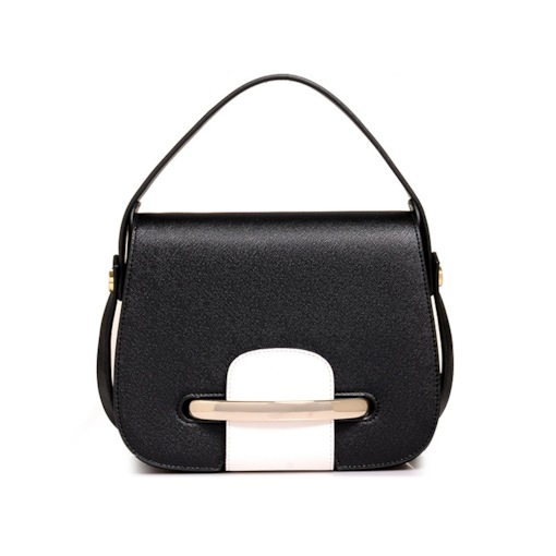 Korean Style Color Block Cross Body Bag