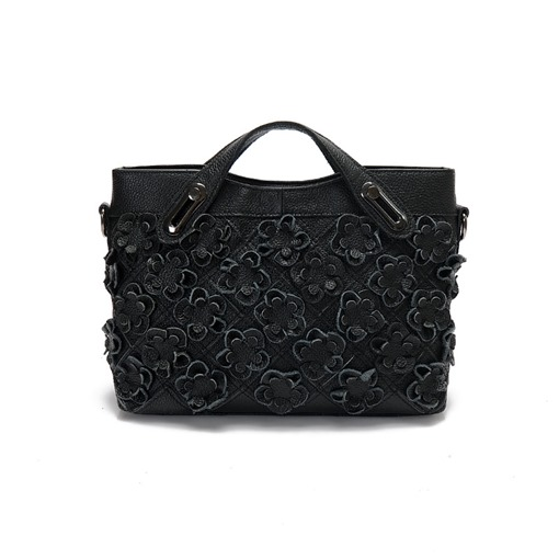 Chic Floral Adornment Women Tote
