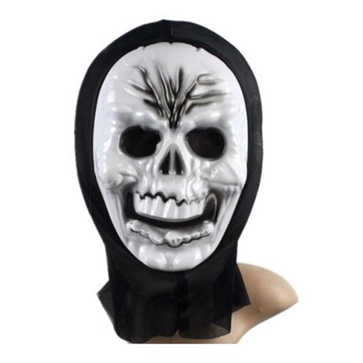European Skeleton Ghost Party Transparent Halloween Mask