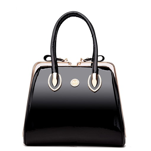 Square Shape Glossy Tote Bag