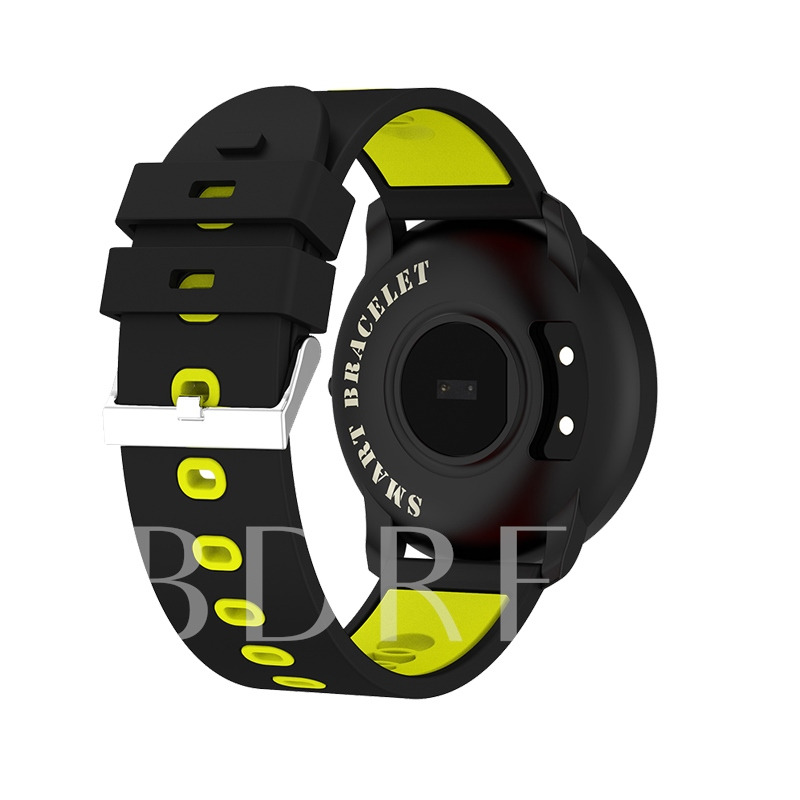Sports Waterproof Color strap Big screen Android iOS Universal Smart Watch