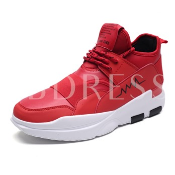 Patchwork Color Block Men's Basketball Shoes