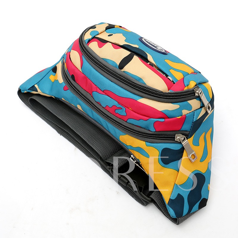 Fashion Nylon Printing Chest pack