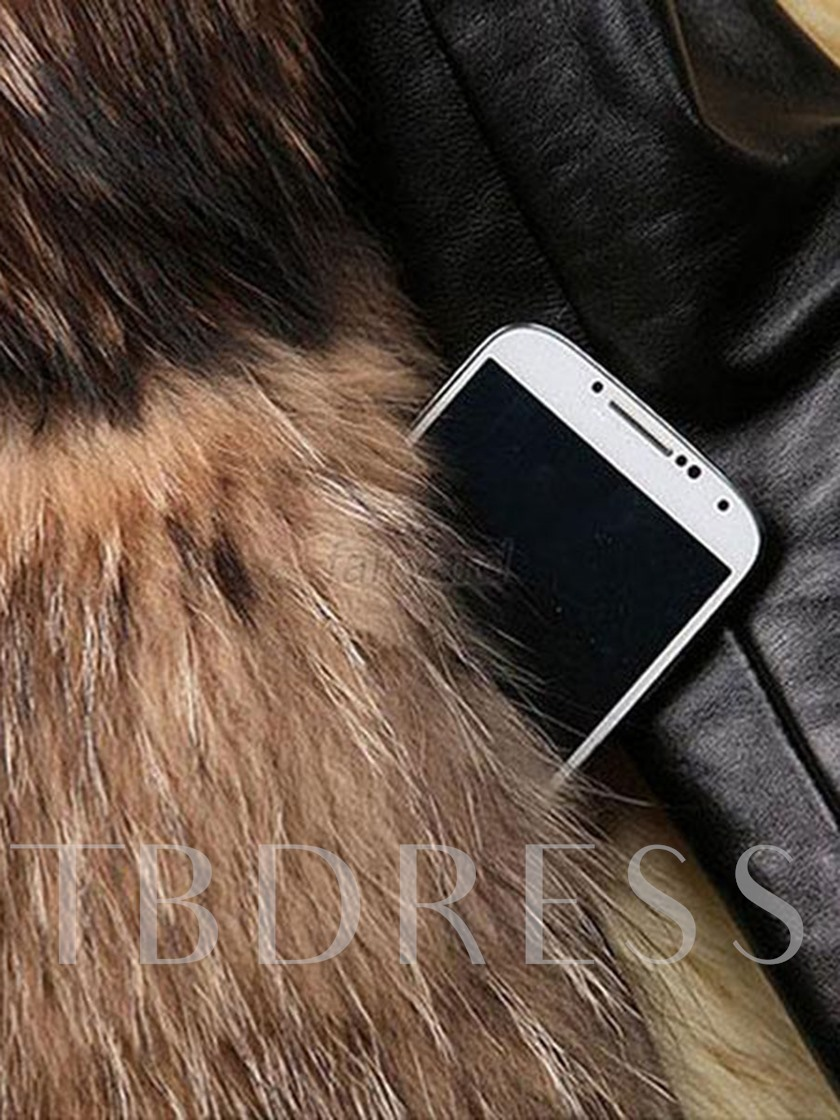 Artificial Fur Warm Thick Women's Winter Overcoat