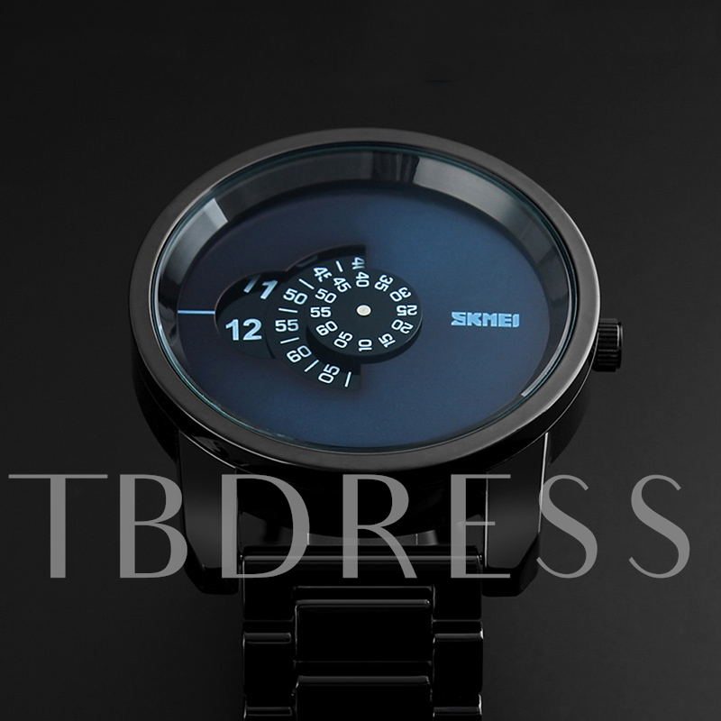 Creative Display Simple Men's Sports Watches