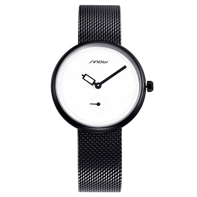 Simple Analogue Display Quartz Alloy Water Resistant Watches