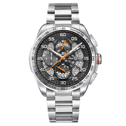 Quartz Analogue Display Alloy Three Time Zone Glass Men's Watches