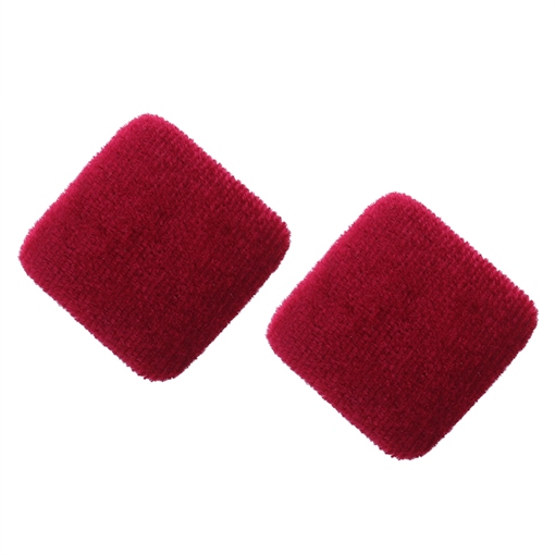 Flannel Square Polishing Solid Color Earrings