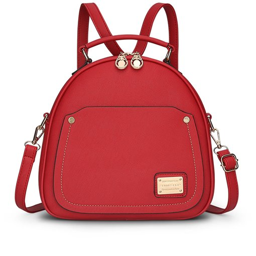 Korean Style Double Zipper Design Backpack