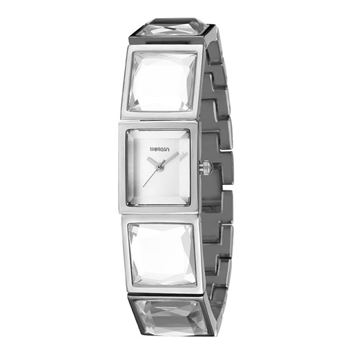Rhinestone Quartz Glass Alloy Analogue Display Watches