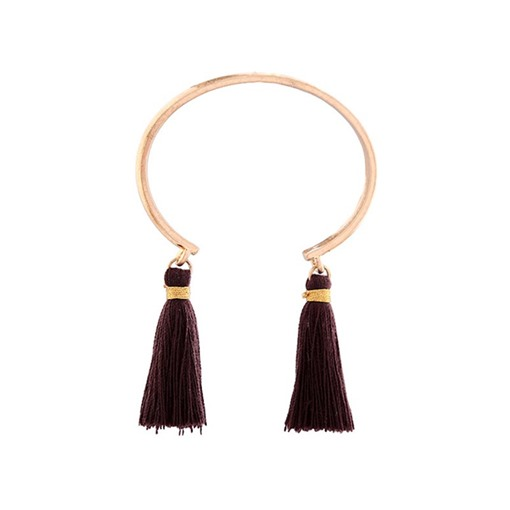 Openings Tassel All Match Alloy Simple Bracelet