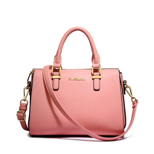 Elegant Solid Color PU Women Tote