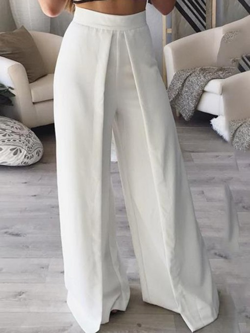 Wide Legs Loose High-Waist Women's Pants