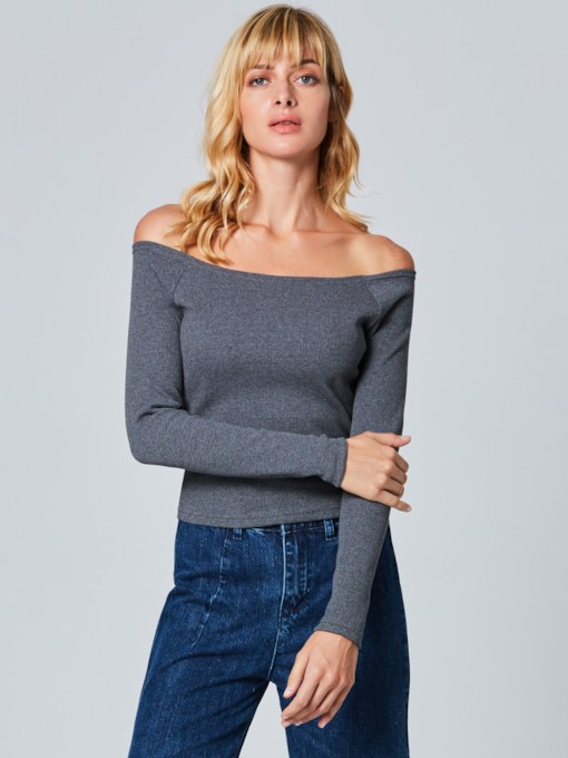 Sexy Slash Neck Backless Women's Sweater