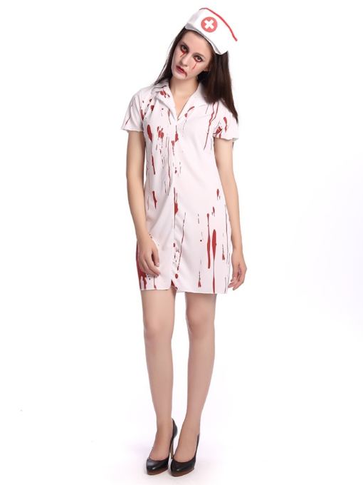 Short Sleeve Scary Women's Costumes