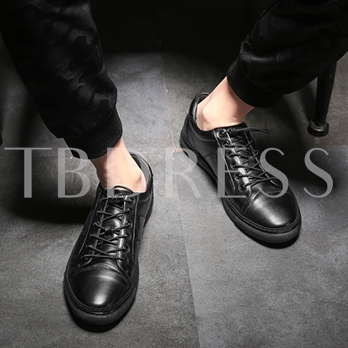 Work Shoes Elastic Band Men's Black Skaters