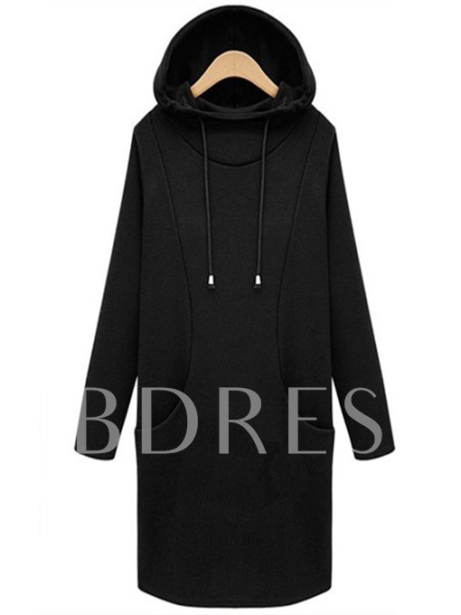 Hooded Mid-length with Pockets Women's Hoodie