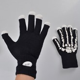LED Luminous Skeleton Keep Warm Halloween Gloves