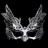 Hollow Out Plastic Gothic Masquerade Halloween Mask