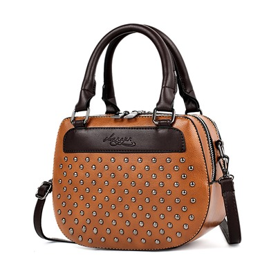 Shell Shape Rivet Decoration Women Bag Set