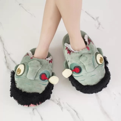 Halloween Devil Patchwork Women's Shoes