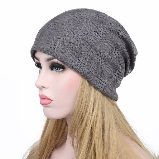 Hollow Out Lace Solid Color Ventilate Hats