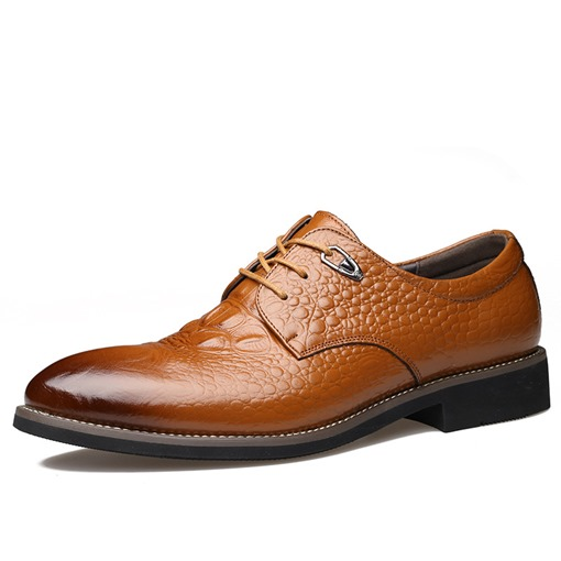 Brush Off Sewing Men's professional Shoes