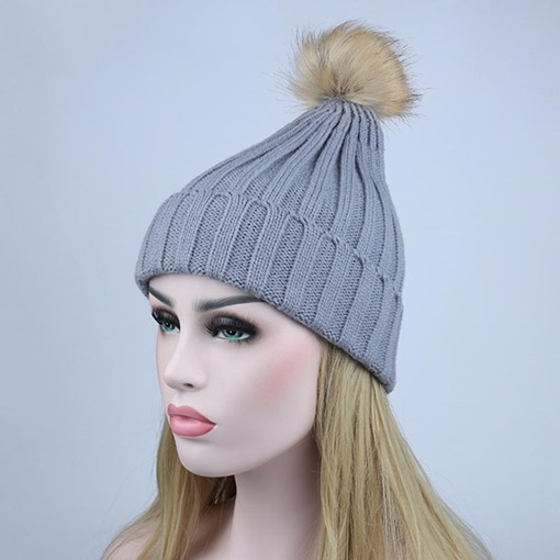 Fashion Woolen Yarn Winter Warmth Hat